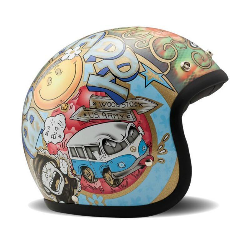 DMD Vintage Woodstock Helmet S multi-coloured