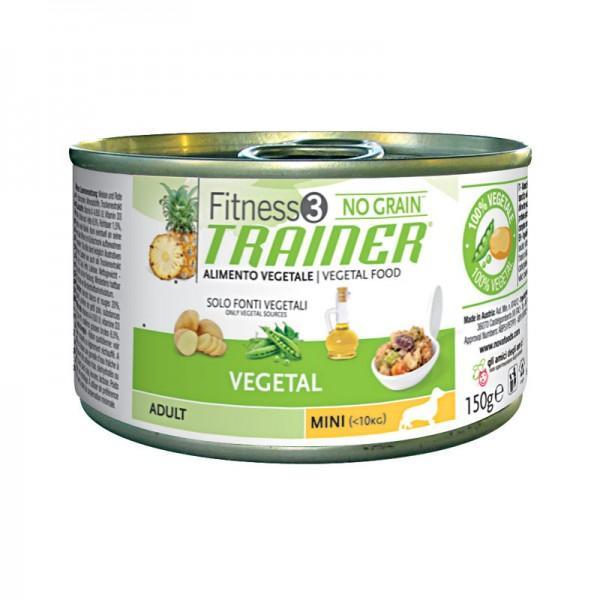 Fitness 3 Adult Mini Vegetal Umido 150 g