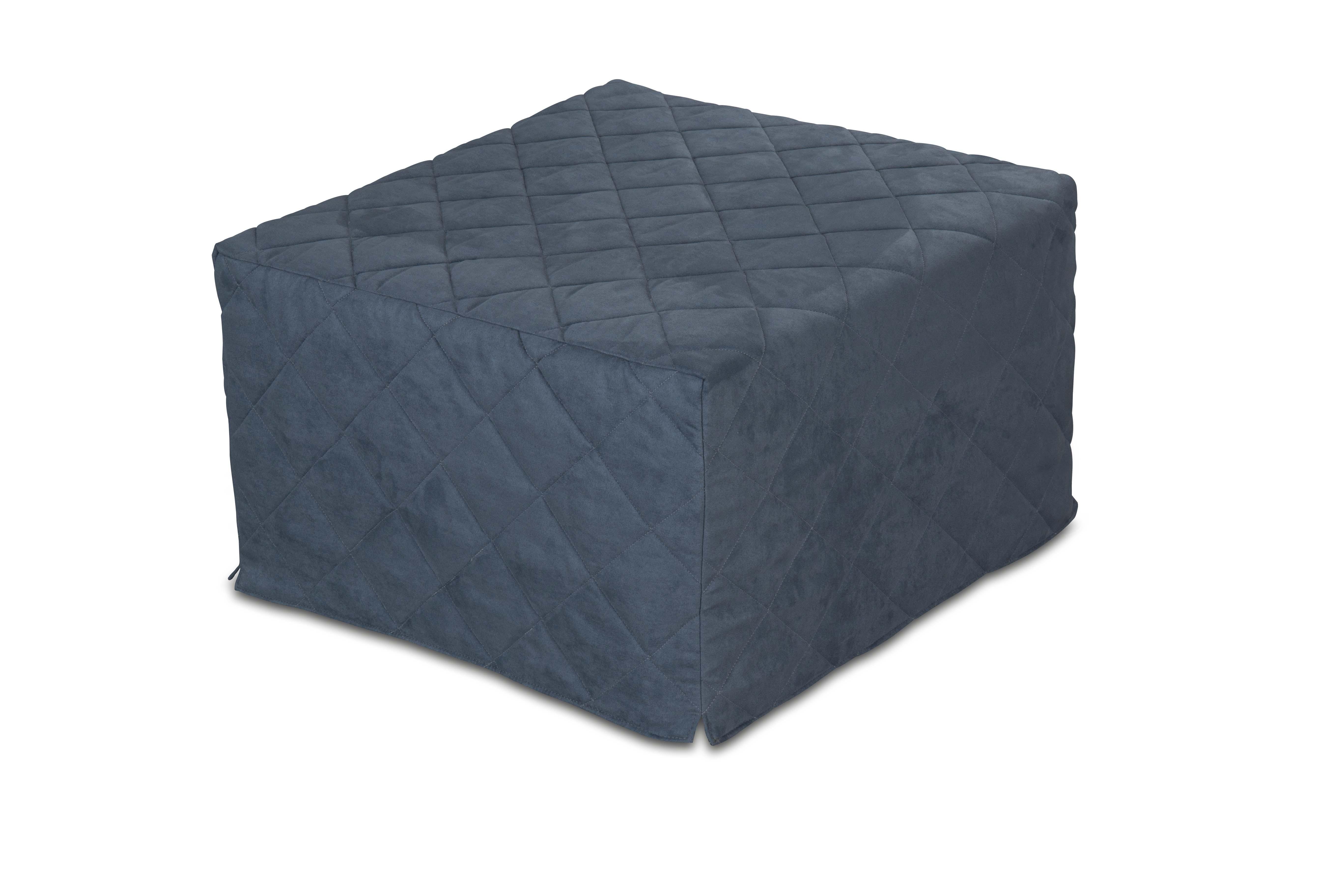 Pouf letto da seduta apribile con materasso singolo - Ikea letto gonfiabile ...