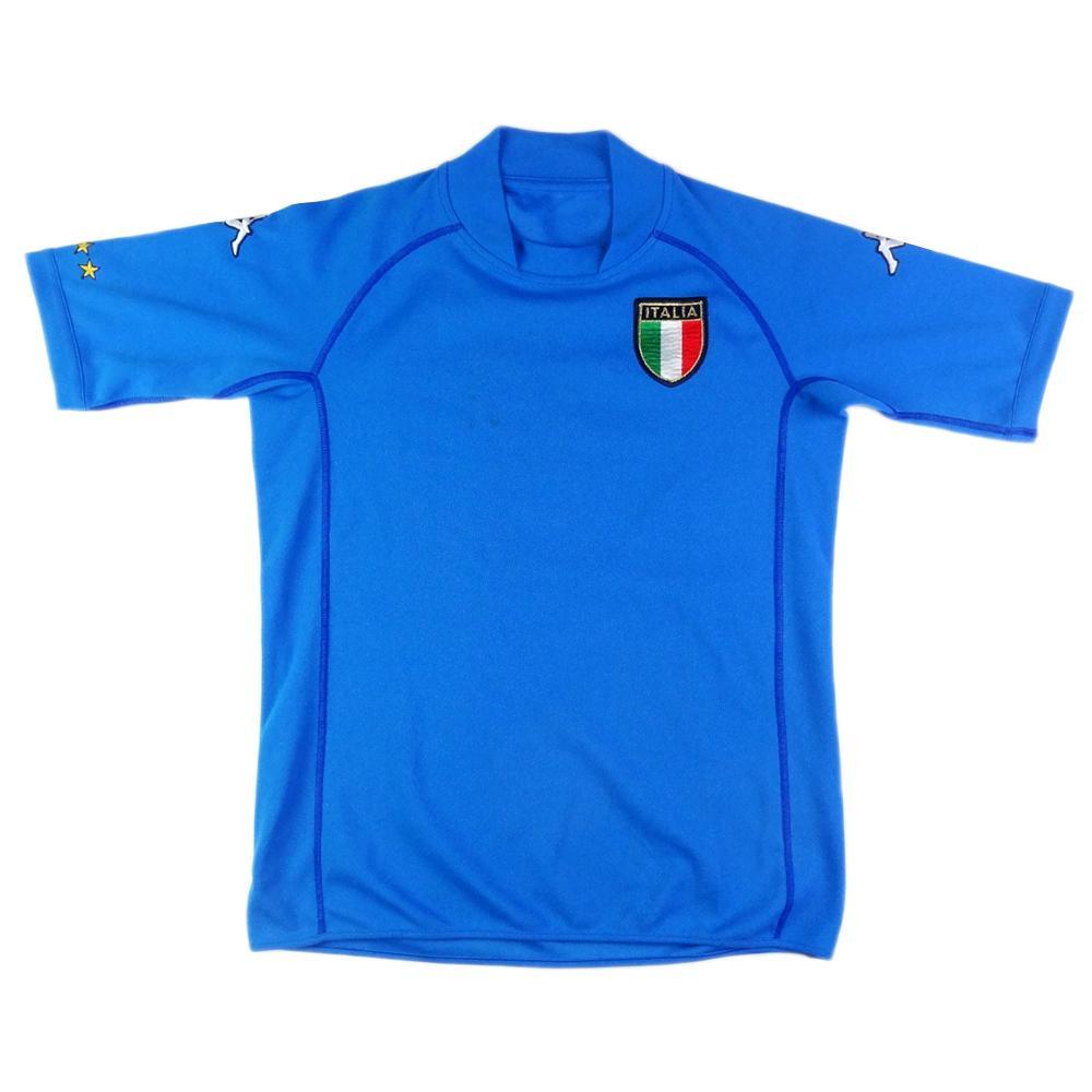 2002 Italia Maglia Home *XXL.Ragazzo