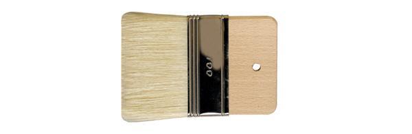 Pennello Spalter in pura setola bionda n.100