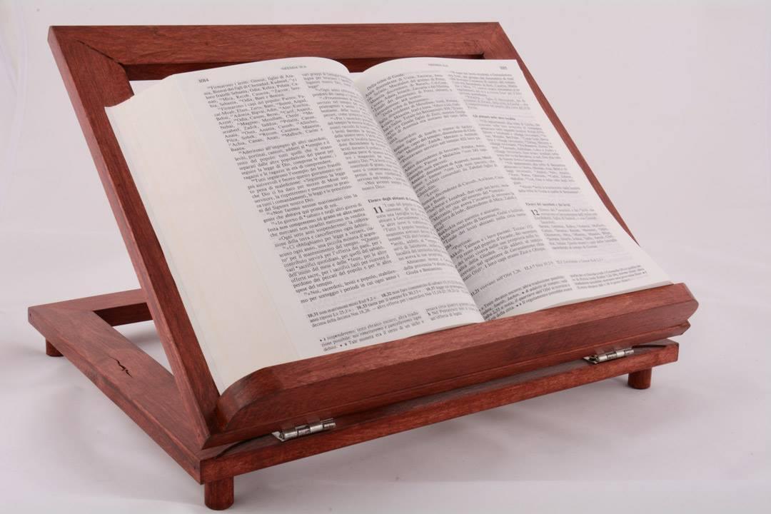Leggio da tavolo in legno rosso 34 x 28 cm pietrobon - Costruire un leggio da tavolo ...