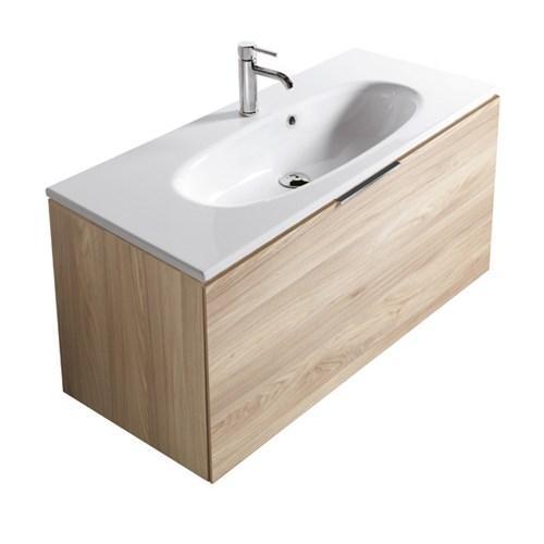 Mobile da bagno con lavabo Ergo Galassia Cm 105 x 45