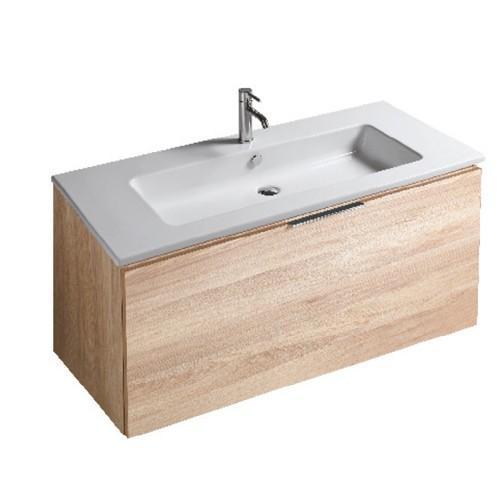 Mobile da bagno con lavabo Eden Galassia Cm 120 x 45