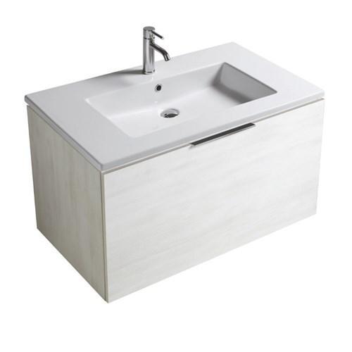 Mobile da bagno con lavabo Eden Galassia Cm 90 x 45