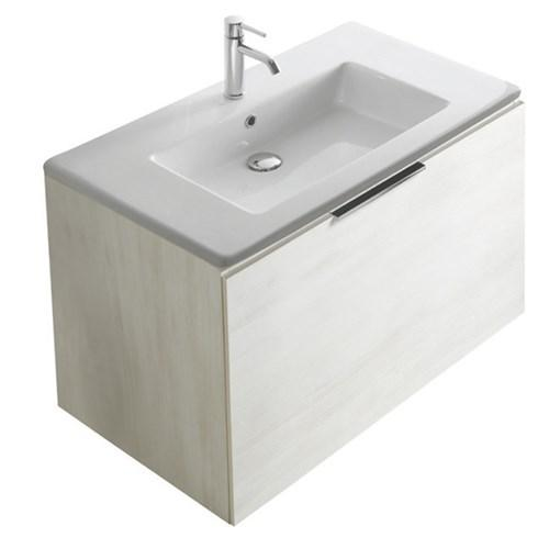 Mobile con lavabo cm 95 x 50 Plus design Galassia