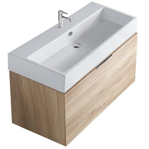 Mobile da bagno con lavabo Plus design Galassia cm 100 x 47