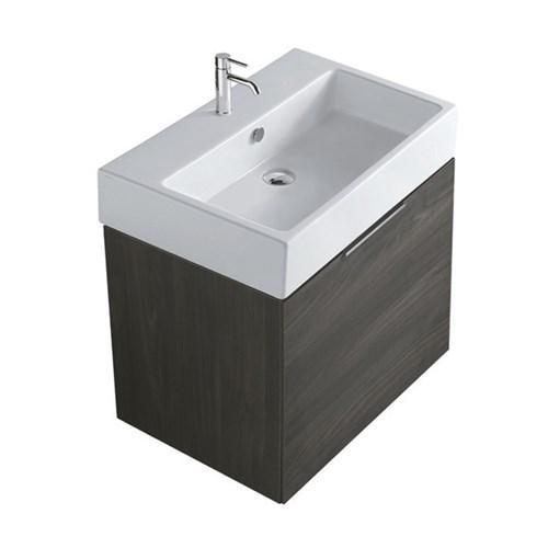 Mobile da bagno con lavabo Plus design Galassia cm 60 x 47