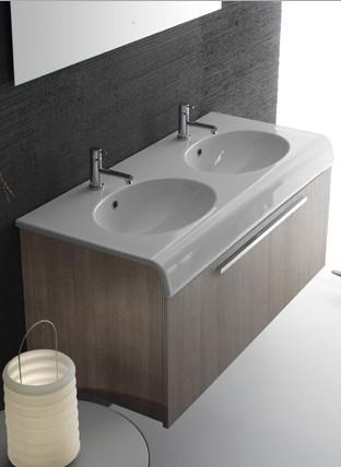 Mobile da bagno con lavabo cm 110 x 50 Bowl+ Globo