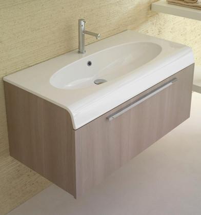 Mobile da bagno con lavabo cm 100 x 50 Bowl+ Globo