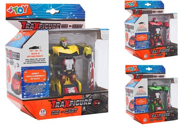 TRAXFIGURE DIE CAST ROBOT > AUTO 3 COL. 38205 GLOBO