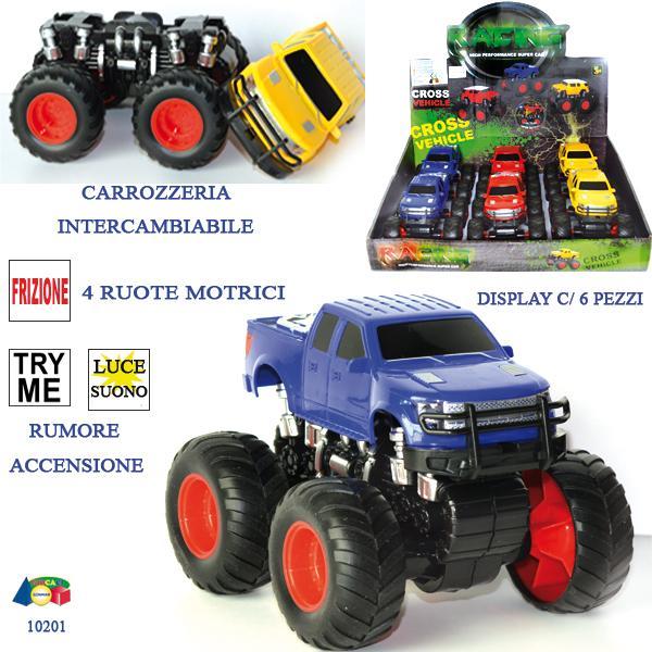 JEEP 4WD FRIZ.-LU/SUO,CARROZ..INTERC.DBX,TRY 10201 GINMAR srl