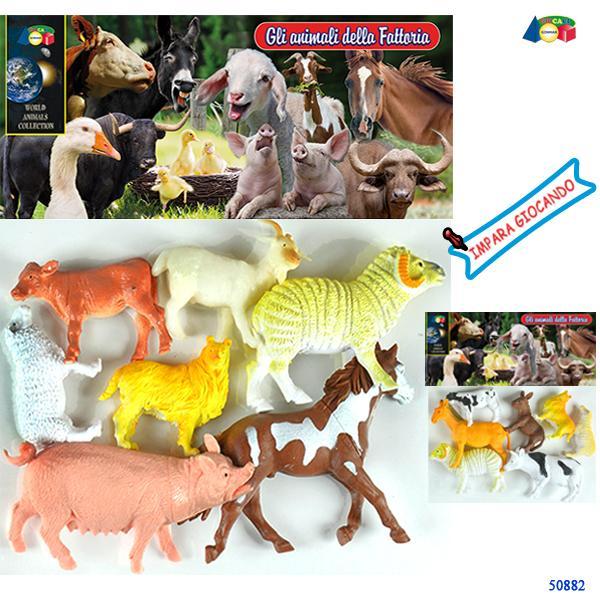 BUSTA FATTORIA GLI ANIMALI DELLA FATTORIA AS 50882 GINMAR srl