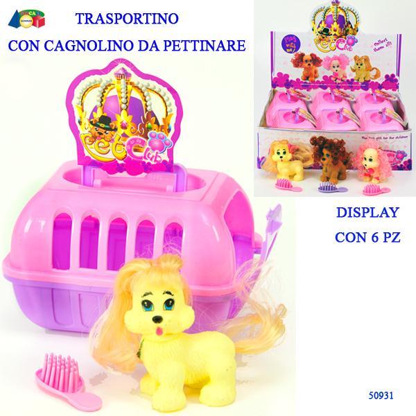 TRASPORTINO C/CANE E PETTININO ASS.,IN DBX 50931 GINMAR srl