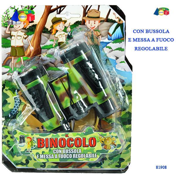 SET IL BINOCOLO C/ BUSSOLA 81908 GINMAR srl