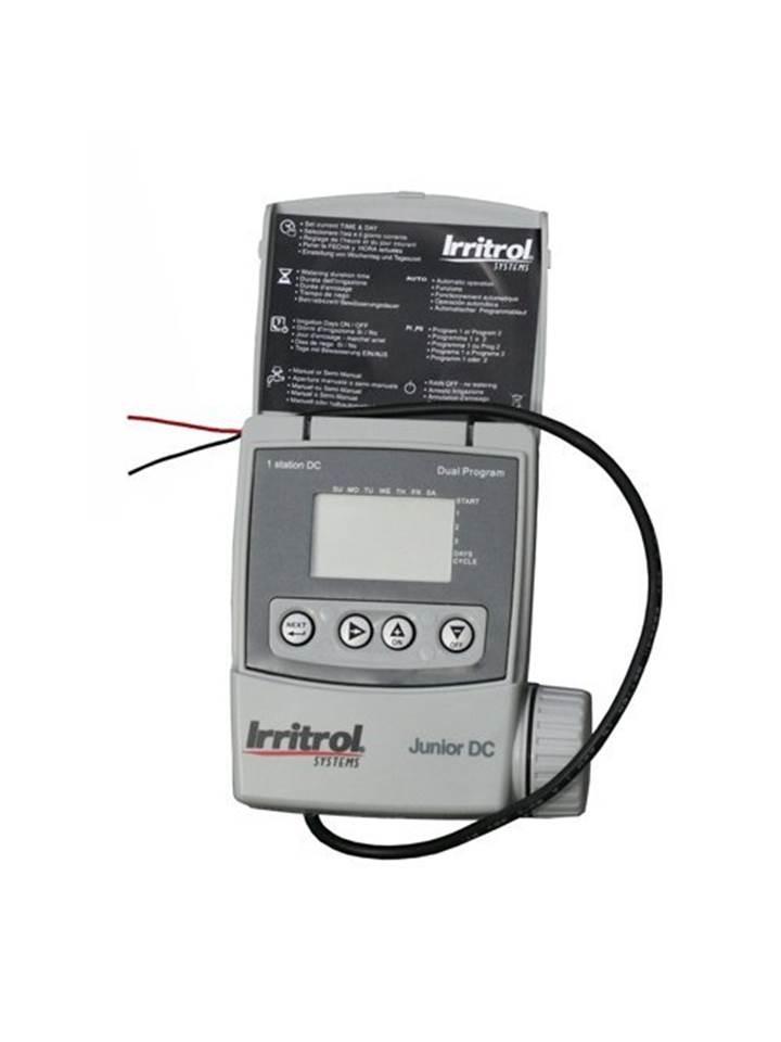 Programmatore a batteria 9v centralina irrigazione 4 zone j for Centralina per irrigazione a batteria