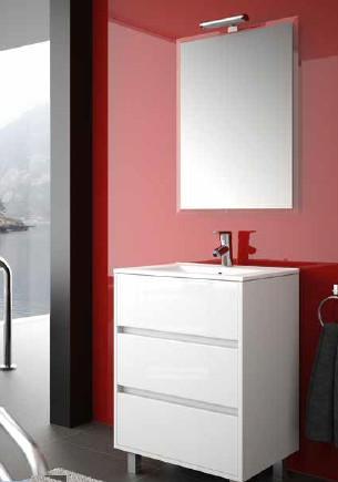 Mobile da bagno Arenys 600 bianco Salgar