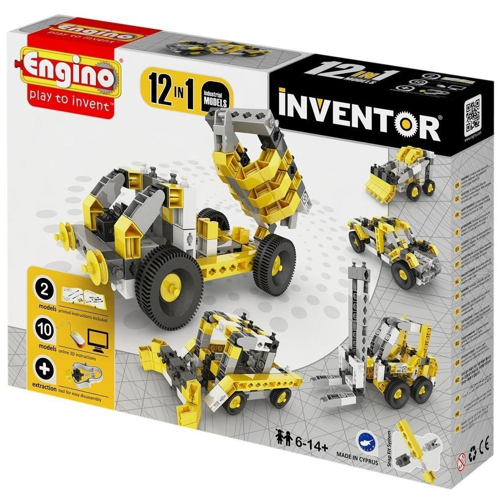 ENGINO INVENTOR 12 MODELS INDUSTRIAL 094161