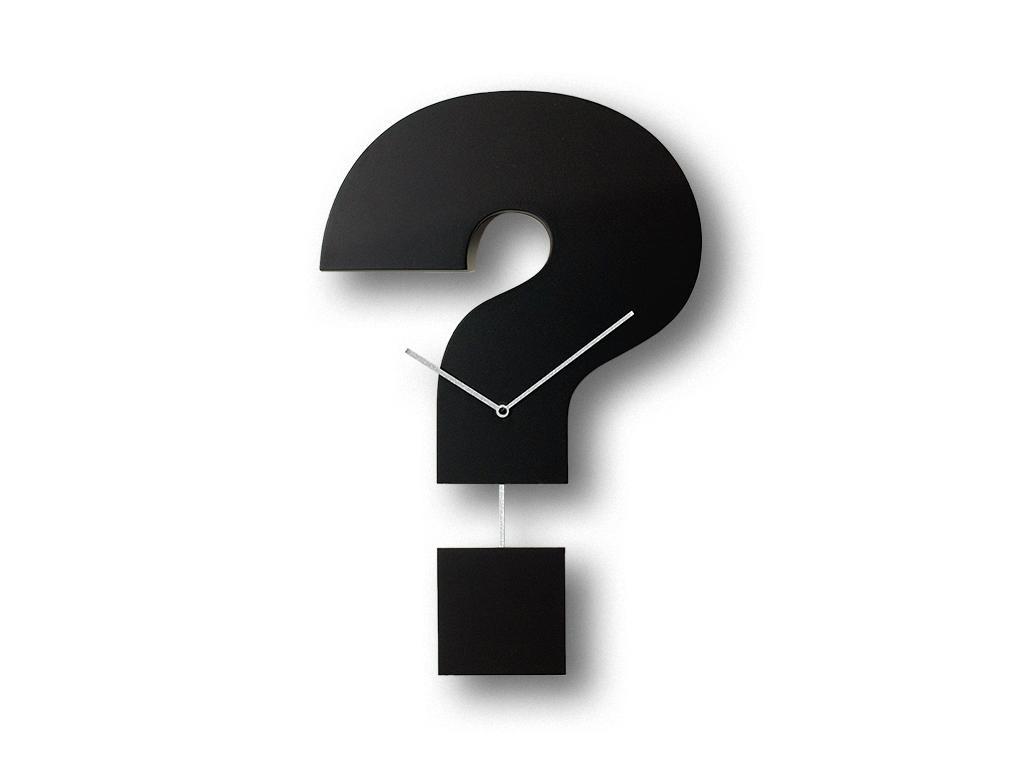 Orologio Question Time Progetti, idea regalo