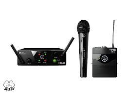 RADIOMICROFONO SET VOCAL AKG WMS40 MINI DUAL