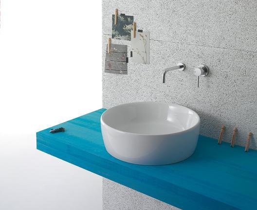 Lavabo appoggio per il bagno cm 48 Genesis Globo