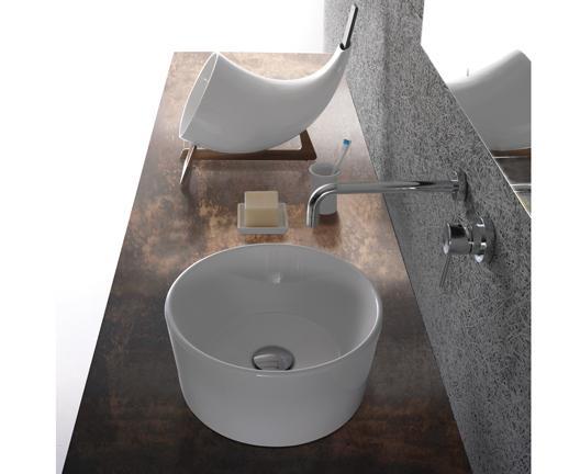 Lavabo da appoggio per il bagno cm 35 Forty3 Globo