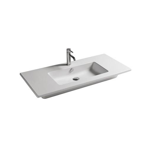 Lavabo sospeso per il bagno cm 101 x 46 Dream Galassia
