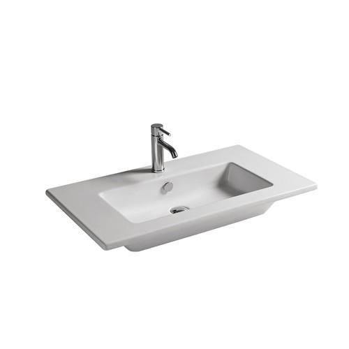 Lavabo sospeso per il bagno cm 81 x 46 Dream Galassia