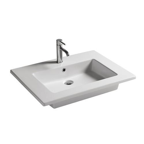 Lavabo sospeso per il bagno cm 71 x 46 Dream Galassia-2