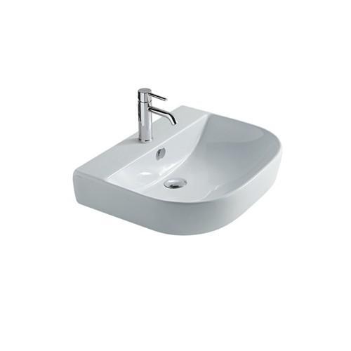 Lavabo sospeso per il bagno cm 60 x 48 Eden Galassia