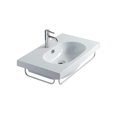Lavabo sospeso per il bagno cm 75 x 45 Eden Galassia