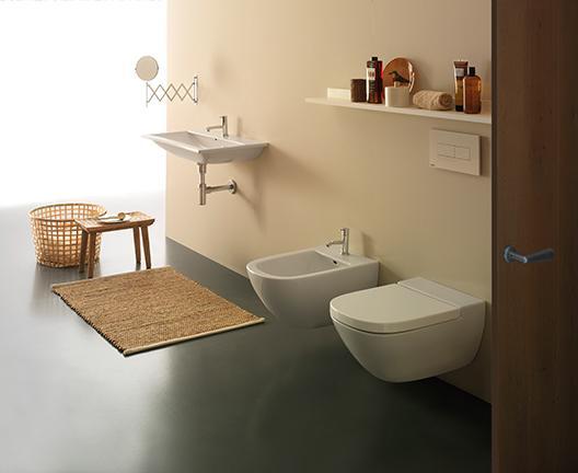 Lavabo sospeso per il bagno cm 84 x 45 Stockholm Globo