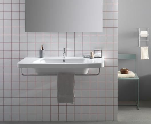 Lavabo sospeso per il bagno cm 100 x 48 Daily Globo