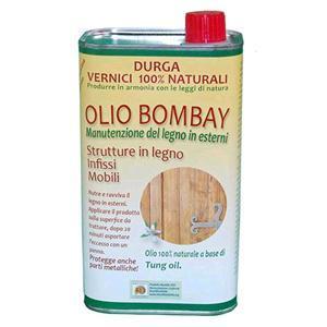 Olio Bombay manutenzione e pulizia superfici in legno 1lt. DURGA