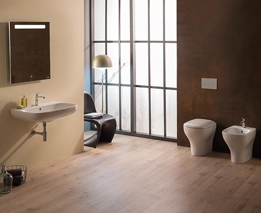 Lavabo sospeso per il bagno cm 70 x 50 Genesis Globo