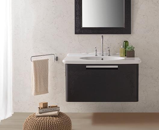 Lavabo sospeso per il bagno cm 100 x 55 Paestum Globo