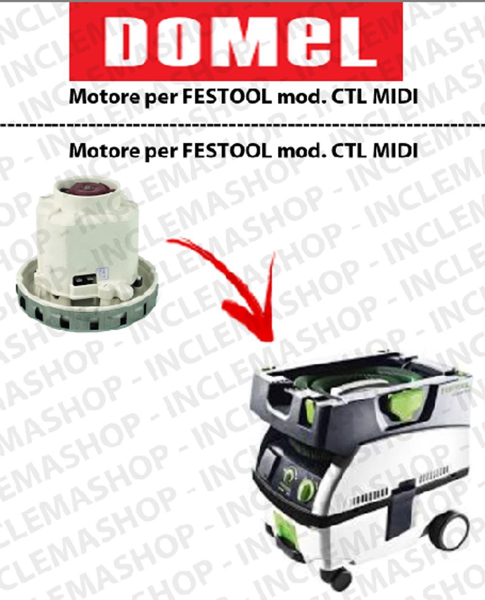 CTL MIDI Saugmotor DOMEL für Staubsauger FESTOOL