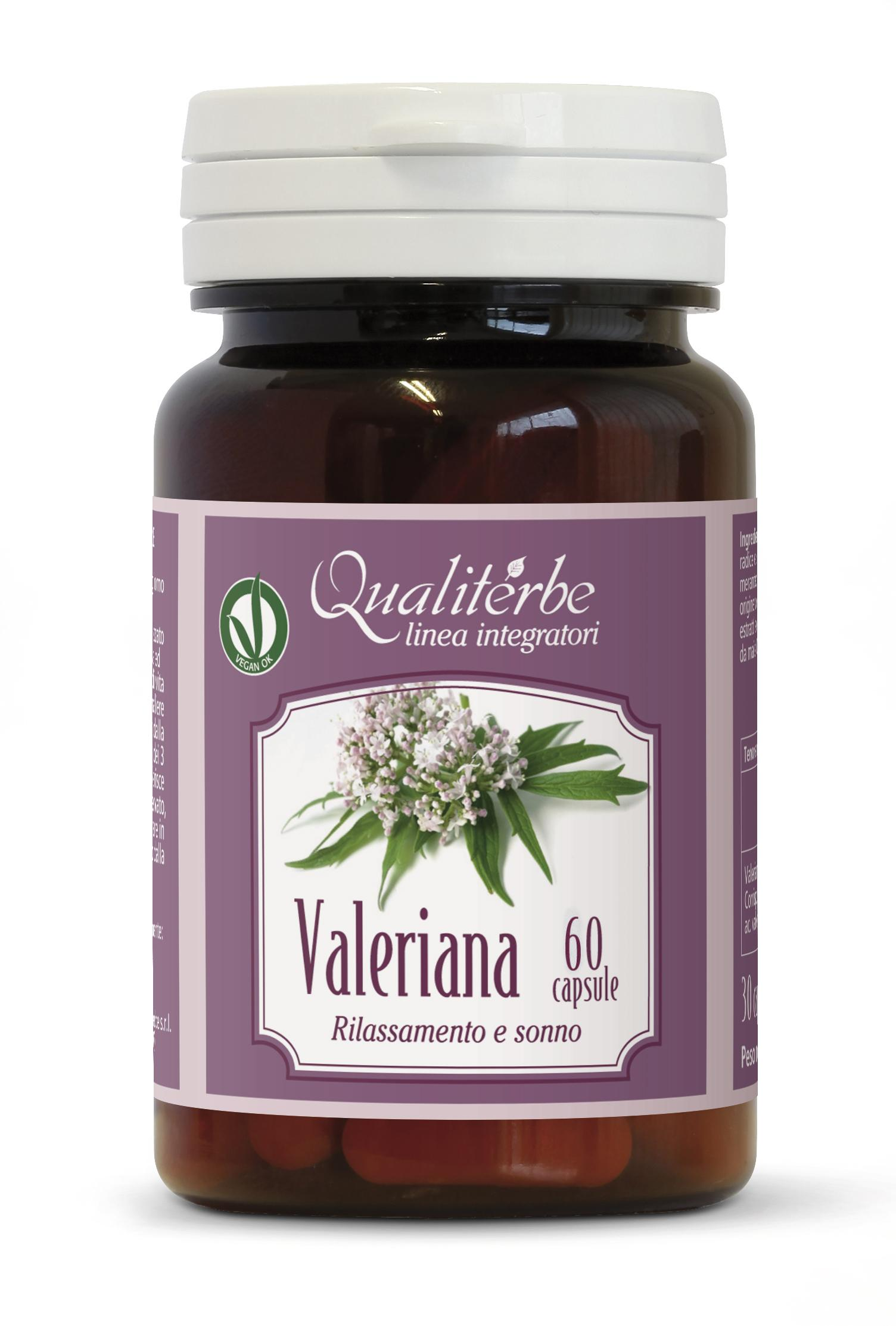 Valeriana 60 Capsule (Rilassamento e sonno)