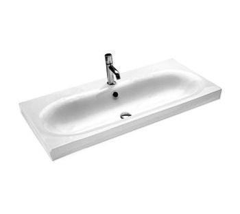 Lavabo sospeso monoforo per il bagno cm 110 Daytime Hatria