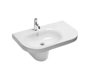 Lavabo sospeso monoforo per il bagno cm 86 sx Daytime Hatria
