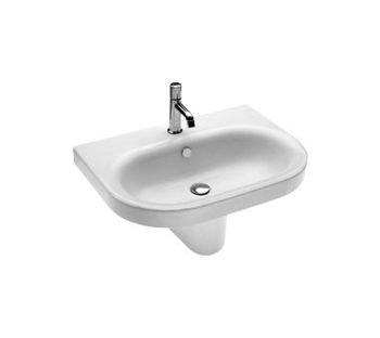 Lavabo sospeso monoforo per il bagno cm 70 Daytime Hatria