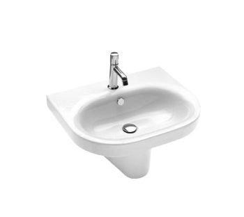 Lavabo sospeso monoforo per il bagno cm 62 Daytime Hatria