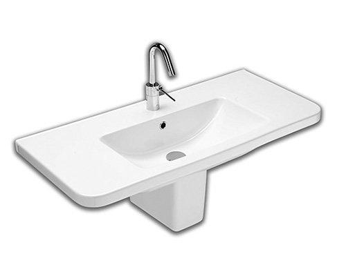 Lavabo sospeso per il bagno cm 100 Erika Pro Hatria
