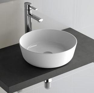 Lavabo da appoggio per il bagno diam. 38 Desir Salgar