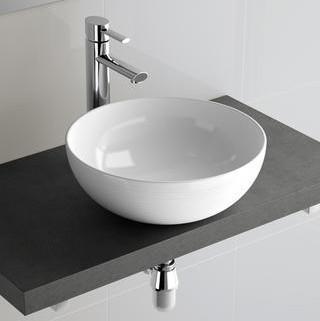 Lavabo da appoggio per il bagno diam. 39 Seduction Salgar