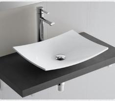 Lavabo da appoggio per il bagno cm 50 x 40 Versus Salgar