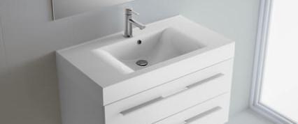 Lavabo sospeso per il bagno cm 120 Starlight Salgar