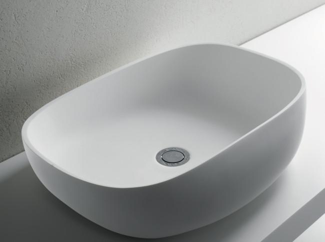Lavabo da appoggio per il bagno cm 58 Melt LIght Brera