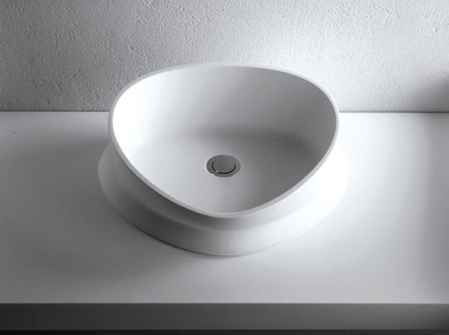 Lavabo da appoggio per il bagno cm 49 Melt Brera