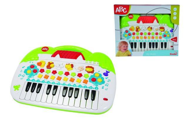 ABC Animal Keyboard 401-8188 SIMBA NEW